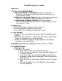 P.E. Lesson Plan Newton's Kickball for ESL students