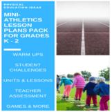 P.E. Mini-Athletics Units, Lessons, Assessments, Posters &