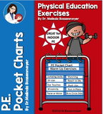 P.E. Pocket Chart:  Exercise Strips