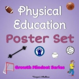 Physical Education Poster Set #2: Growth Mindset