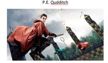 P.E. Qudditch