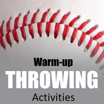 P.E. Resources Throwing and Catching Warm-up Games