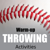 Physical Education Resources Throwing and Catching Warm-up Games