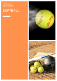 P.E. SOFTBALL UNITS OF WORK, LESSONS, ASSESSMENTS AND STUDENT CHECKLISTS (3-6)