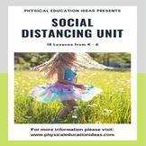 P.E. Social Distancing Units of Work Bundle (K - 6) & Game