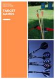 P.E. TARGET GAMES UNITS OF WORK, LESSONS, ASSESSMENTS & STUDENT CHECKLISTS (3-6)