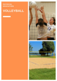 P.E. VOLLEYBALL UNITS OF WORK, LESSONS, ASSESSMENTS & STUDENT CHECKLISTS (3 - 6)