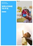 P.E. Welcome to PE Units, Lessons, Assessments, Posters &