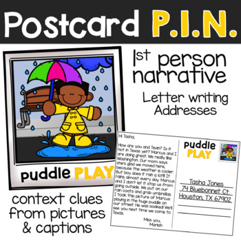 P.I.N. ARPIL: Narrative Writing with Picture Prompts