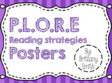 P.L.O.R.E. Reading Strategies Poster