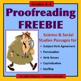 PROOFREADING FREEBIE   • GRADES 4–6