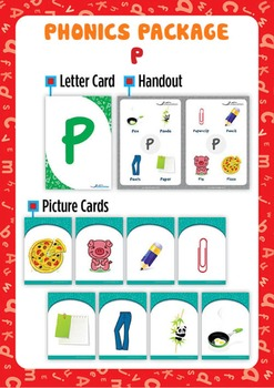'P' Phonics Resource Package