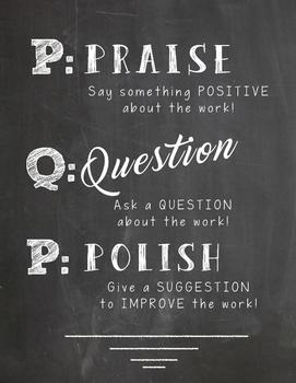 P.Q.P. Poster- Praise Question Polish