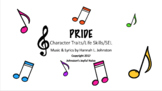 P-R-I-D-E: Character Traits & Life Skills, SEL Songs