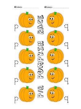 P and Q Pumpkin Race ***Updated***