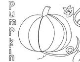P for Pumpkin