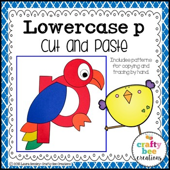 P is for Parrot Cut and Paste