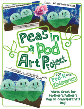 Peas in a Pod Art Project