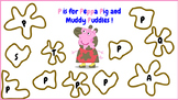 P is for Peppa Pig and Paw Patrol
