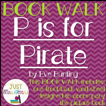 P is for Pirate Book Walk