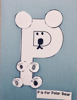 P is for Polar Bear Craft