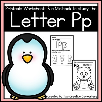 Letter P { Alphabet Practice }