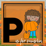 P is for Pumpkins Themed Preschool Lesson Plans (one week curriculum)