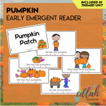 P is for Pumpkins Themed Unit-Preschool Lesson Plans and Activities (one week)