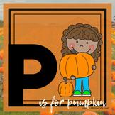 P is for Pumpkins Themed Unit-Preschool Lesson Plans  - Di