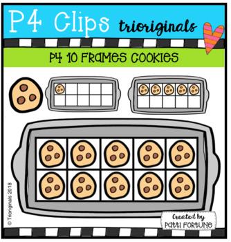P4 10 FRAMES Cookies (P4 Clips Trioriginals)