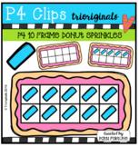 P4 10 FRAMES Donut Sprinkles (P4 Clips Trioriginals)