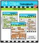 P4 A-Z 10 Frames {P4 Clips Trioriginals Digital Clip Art}