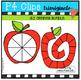P4 A-Z Spinners BUNDLE {P4 Clips Trioriginals Digital Clip Art}