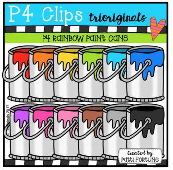 P4 AMAZING 8 ART SUPPLIES (P4 Clips Trioriginals Clip Art)