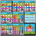 P4 AMAZING 8 Fish Bowl fun (P4 Clips Trioriginals Clip Art)