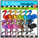 P4 AMAZING 8 RAINBOW BUNDLE #9 (P4 Clips Trioriginals Clip Art)