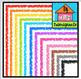 P4 AMAZING 8 RAINBOW Borders BUNDLE (P4 Clips Trioriginals