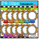 P4 AMAZING 8 RAINBOW Circus BUNDLE (P4 Clips Trioriginals)