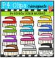 P4 AMAZING 8 RAINBOW Cleaning Supplies (P4 Clips Trioriginals)