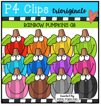 P4 AMAZING 8 RAINBOW FALL BUNDLE ( P4 Clips Trioriginals)