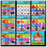 $3 FLASH SALE P4 AMAZING 8 RAINBOW Felt (P4 Clips Trioriginals Clip Art)