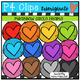P4 AMAZING 8 RAINBOW Hearts and Frames (P4 Clips Trioriginals)