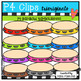 P4 AMAZING 8 RAINBOW Music (P4 Clips Trioriginals Clip Art)