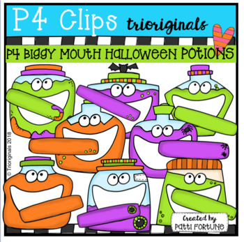 P4 BIGGY MOUTH Potions (P4 Clips Trioriginals)