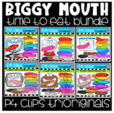 P4 BIGGY MOUTH RAINBOW BUNDLE (P4 Clips Trioriginals)