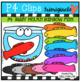 P4 BIGGY MOUTH RAINBOW BUNDLE (P4 Clips Trioriginals)