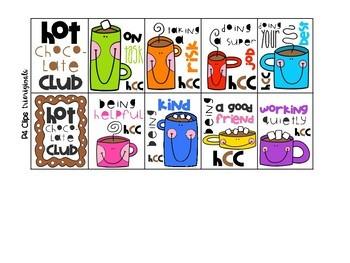 P4 BRAG TAGS Hot Chocolate Club (P4 Clips Trioriginals)