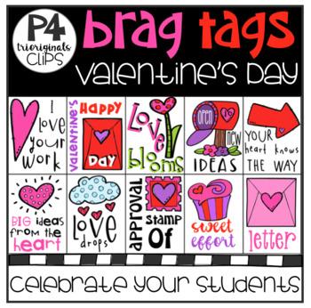 P4 BRAG TAGS Valentine's Day (P4 Clips Trioriginals)