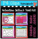 Valentine Seller's Tool Kit (P4 Clips Triorignals Clip Art)