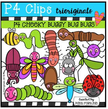 P4 CHEEKY Buggy Bug Bugs (P4 Clips Trioriginals)